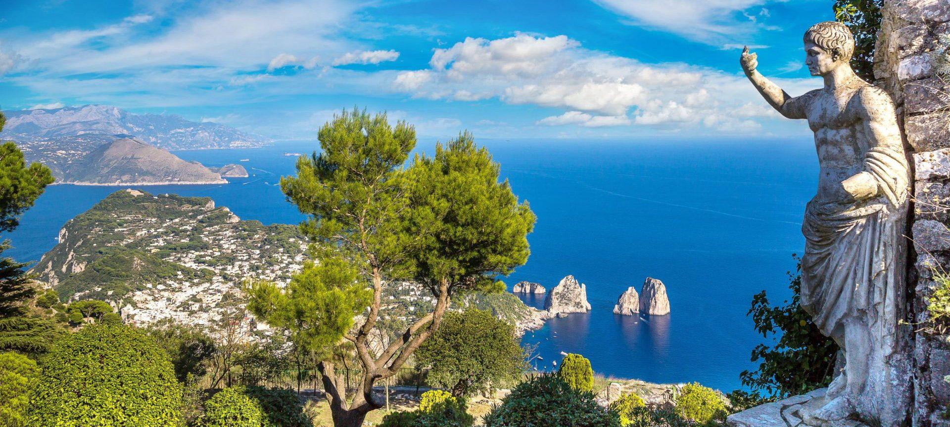 Соренто и Южна Италия - о. Капри, Неапол, Помпей, Амалфи и Позитано.