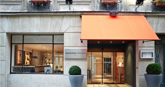 Newhotel Lafayette Paris*** 3•