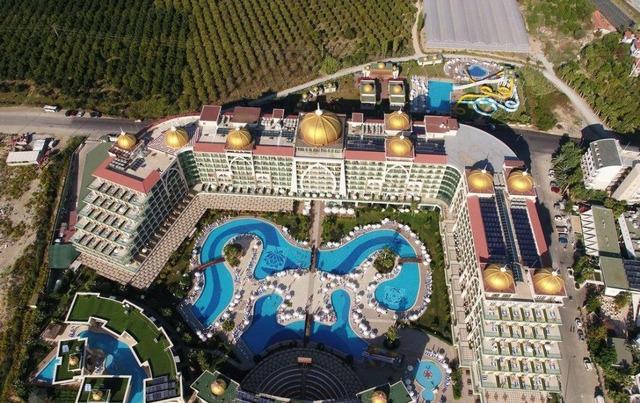 Alan Xafira Deluxe Resort & Spa 5 * хотел 5•
